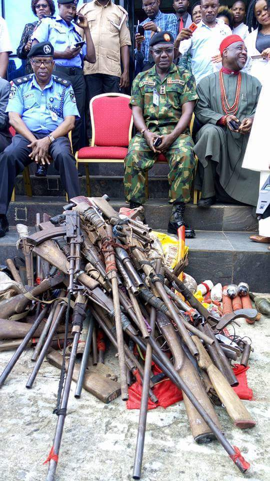 Imo Militants Surrender Arms6