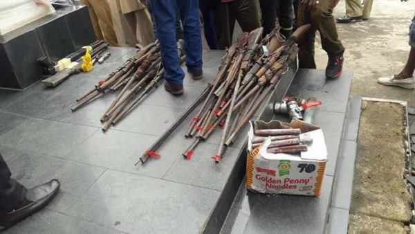 Imo Militants Surrender Arms7