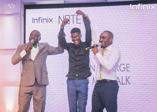 Infinix note 3 launch - dance competition winner