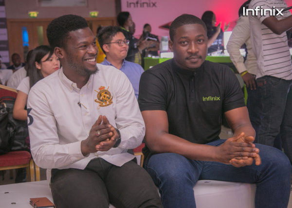 Infinix note 3 launch event Infinix partners