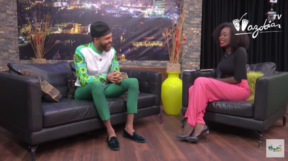 Jidenna Interview Wazobia TV
