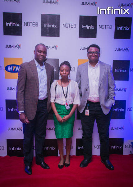 MTN GM & Head of marketing with Infinix marketing communications manager
