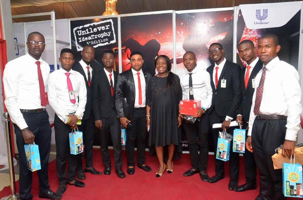 Marilyn with Student Delegates form UNN