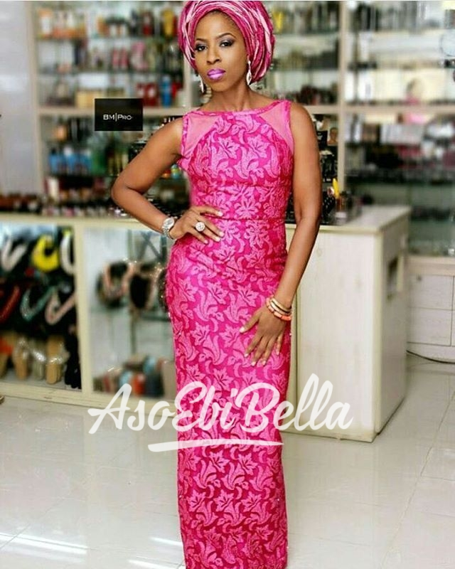 Mrs Olusola in @moofadesigns MUA @bmpro