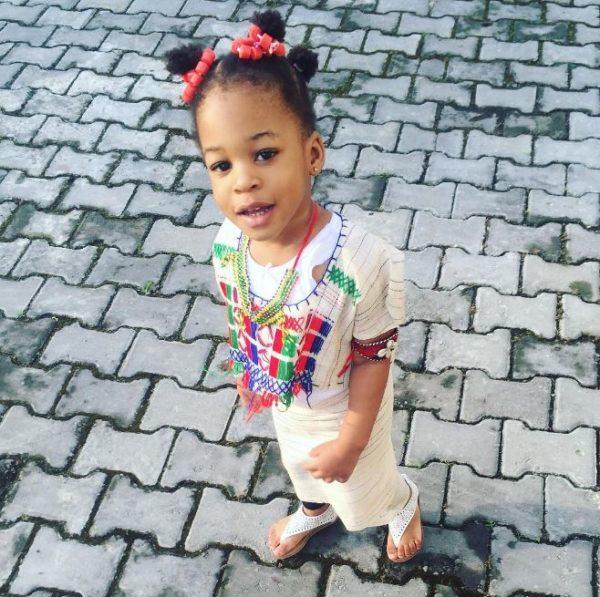 Naeto C & Nicole's Hausa Princess