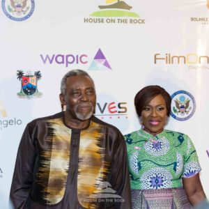 Olu Jacobs and Joke Silva