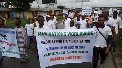 Patience Jonathan Protesters3