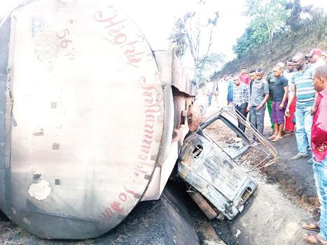 Petrol Tanker Accident in Akwa Ibom