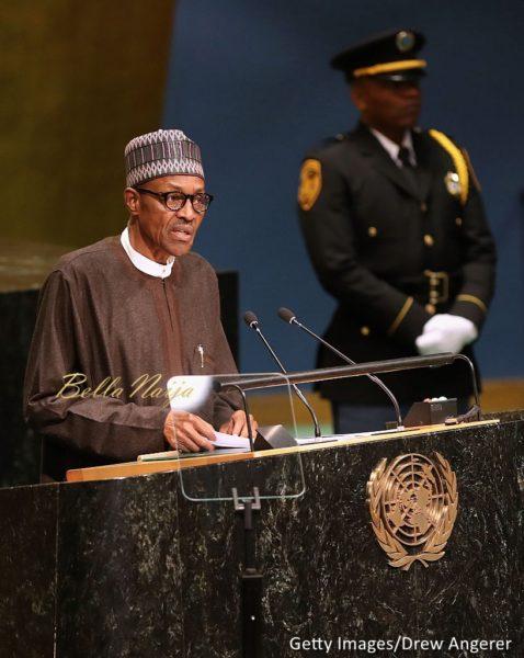 President Muhammadu Buhari addresses the United Nations ...