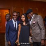 Japheth Omojuwa, Toke Makinwa and DJ Jimmy Jatt