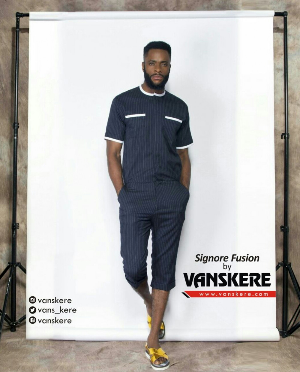 Menswear Design Label Vanskere Debuts Signore Fusion 39 S Possible Conversations Spring 2017