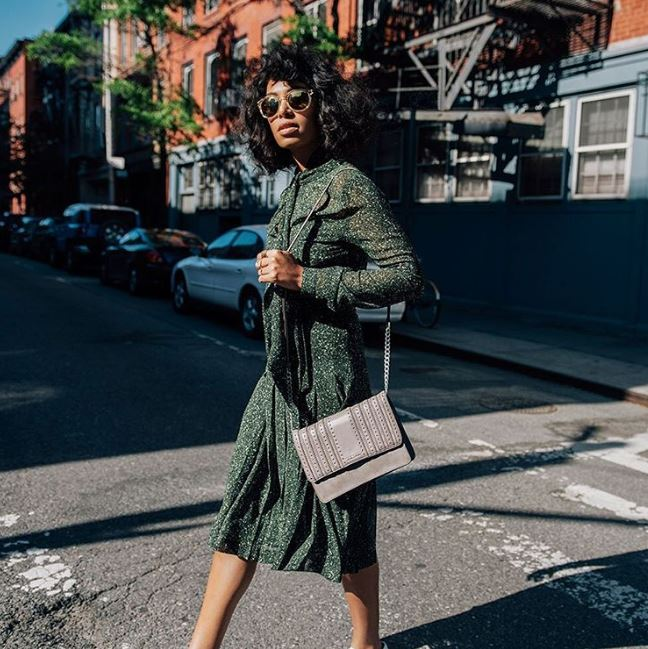 #SidewalkSpotted: Solange Knowles is the Face of Michael Kors First-Ever Street Style Campaign and she looks Effortlessly Amazing!