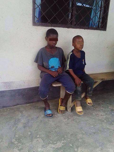 The suspected children