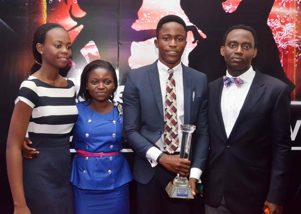 The winners, Team Adobe with their Mentor, Aruosa Osemwegie