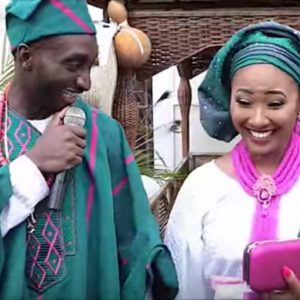 Tolu and Chidinma wedding