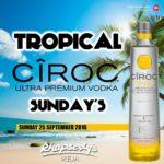 Tropical ciroc sundays 25 September D