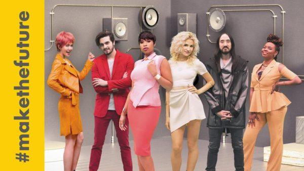 Yemi Alade, Jennifer Hudso, Pixie Lott, Tan WeiWei, Luan Santana & Steve Aoki - #MakeTheFuture