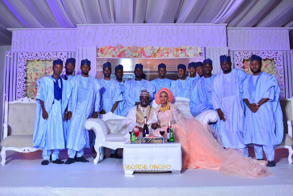 Zara and Faisal wedding dinner_Hausa Nigerian Wedding_The Wedding Guru Planner_George Okoro Photography_GeorgeOkoro-707