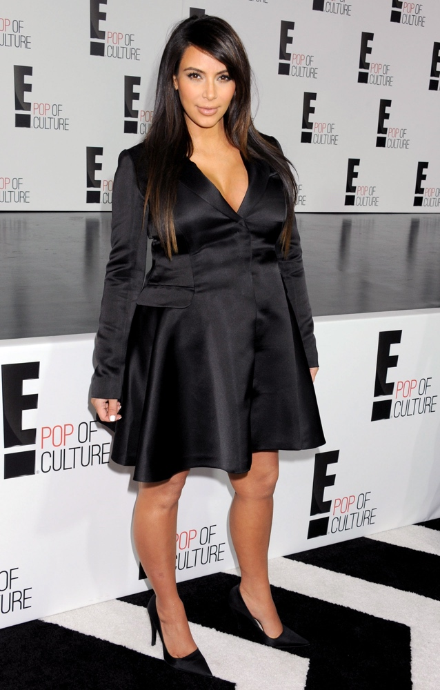 NEW YORK, NY - APRIL 22: Reality TV Personality Kim Kardashian attends the E! 2013 Upfront at The Grand Ballroom at Manhattan Center on April 22, 2013 in New York City. (Photo by Jennifer Graylock/Getty Images)
