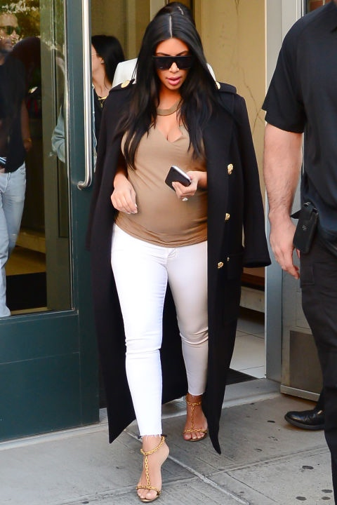 bn style your bump kim kardashian west_hbz-kim-nyc-sept-8-2_bellanaija