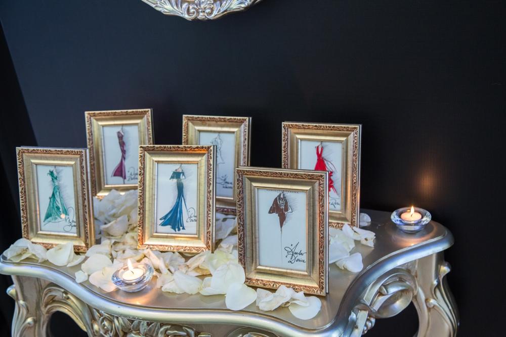 carolina herrera fragrance launch_Carolina Herrera Dress Sketches Inspired by the Herrera Confidential Fragrances_bellanaija