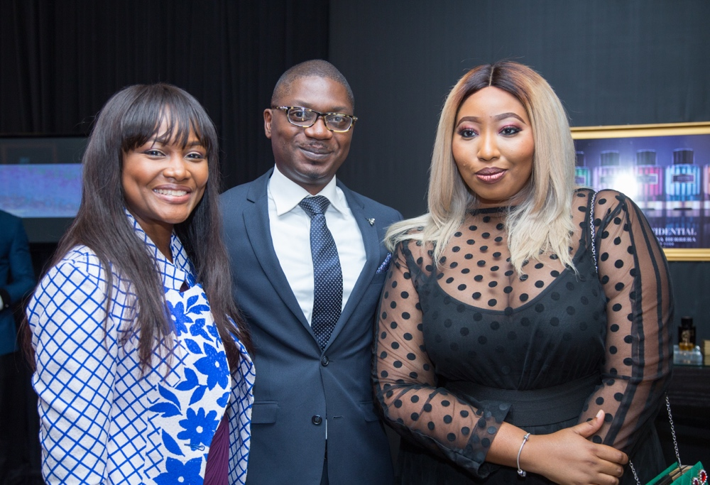 carolina herrera fragrance launch_Onah Nwachukwu, Abu Tafawa Balewa & Latasha Ngwube_bellanaija