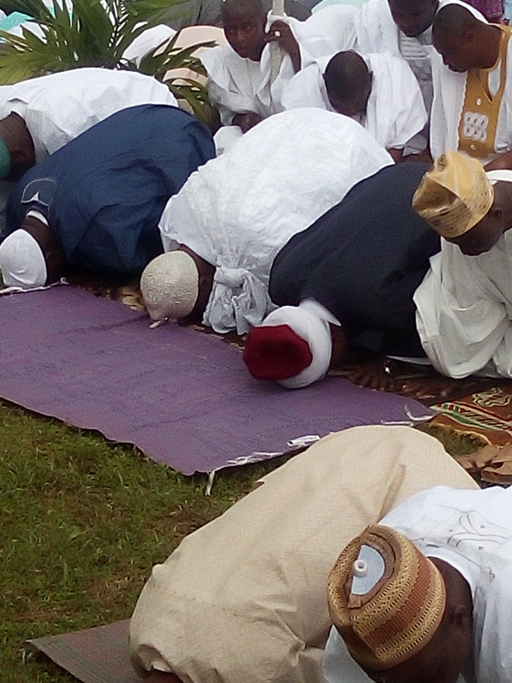 Ooni of Ife Eid Prayers2