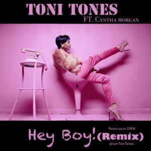 hey boy remix cover art