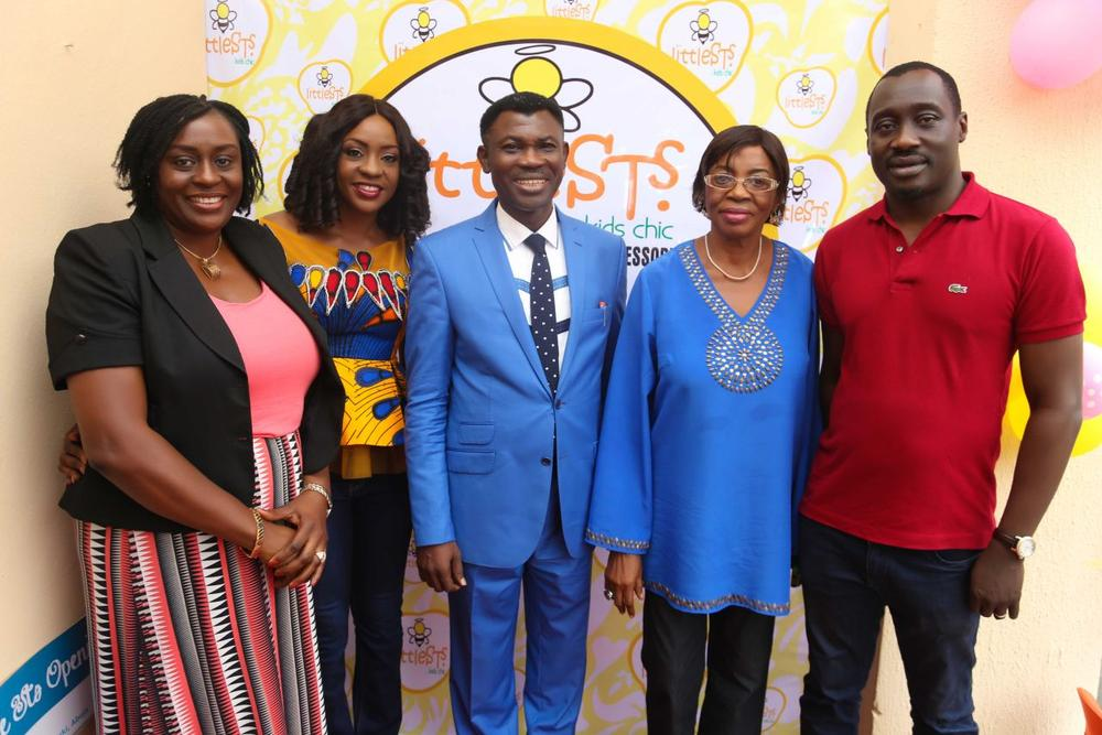 Mrs Ejike, Mrs Jarigbe, Pastor Chris Nwaka, Rev. Grace Ekanem and Hon. Jarigbe