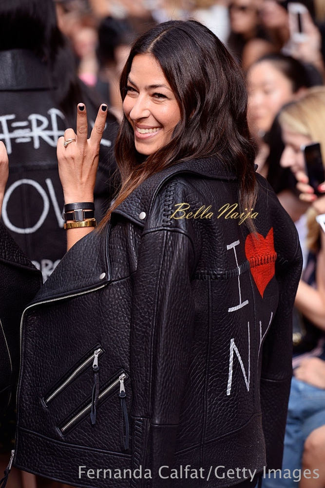 NEW YORK, NY - SEPTEMBER 10: Rebecca Minkoff on the runway at the Rebecca Minkoff fashion show during New York Fashion Week: The Shows September 2016 at Magnum New York on September 10, 2016 in New York City. (Photo by Fernanda Calfat/Getty Images for TRESemme)
