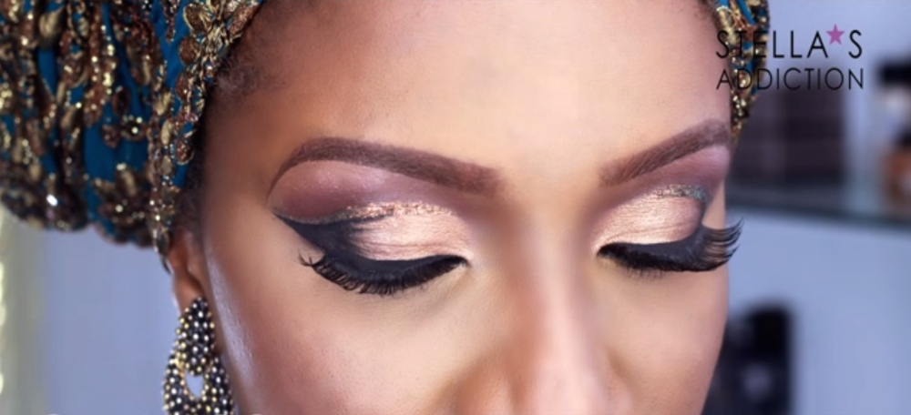 stella's addiction makeup cut crease_Screen Shot 2016-09-17 at 11.05.22_bellanaija