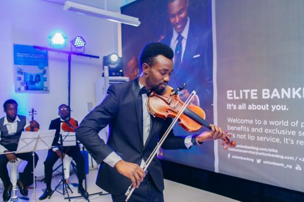 Music at the Launch elite banking by union bank
