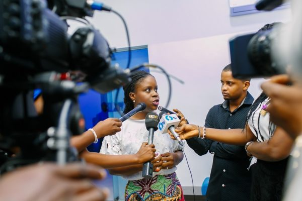 Press interview with Dayo Odulate at the Elite Banking Segment Launch