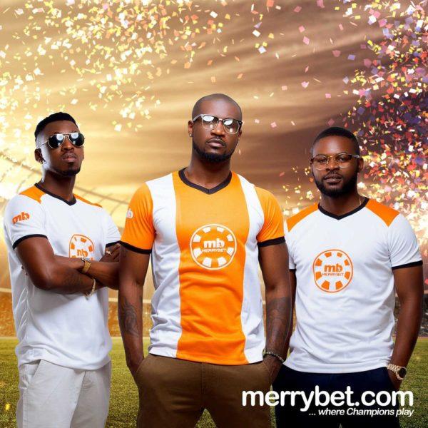 Peter Okoye & Falz land New Endorsement Deals as Merrybet