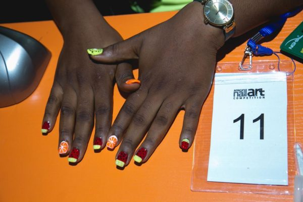 The competition was co- sponsored by Orly, Barazahi spa, Nail Bar and  Perfect Trust. The Product sponsors were China Glaze, Namaste Organics,  Beauty Rev Ng, ... - Winner Of The 2016 African Nail Art Competition Walks Away With
