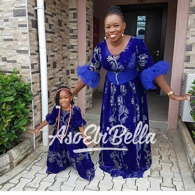 @alwaz_adorable & daughter in @houseofborah