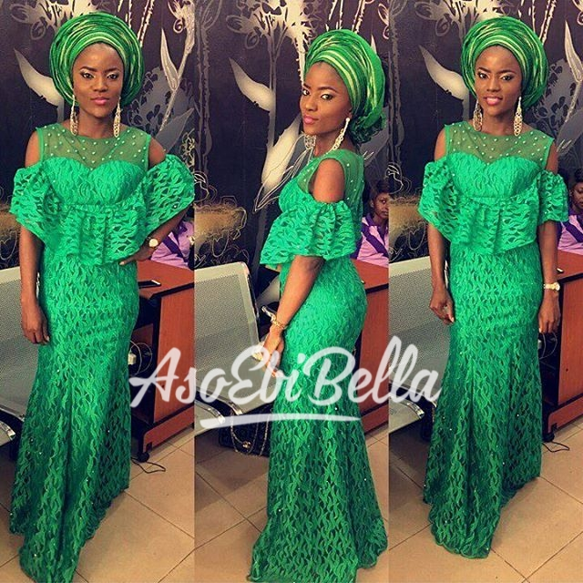 @toyemi_fabrics MUA @beautyperfectionmakeover Dress by @surahbawacouture Fabrics by @toyemi_fabrics