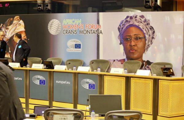 Aisha Buhari Women's Forum in Brussels7