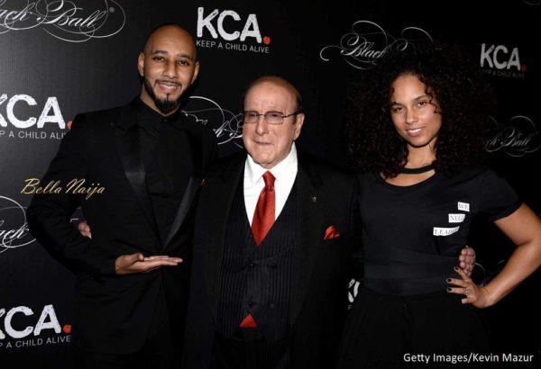 Swiss Beatz, Clive Davis & Alicia Keys