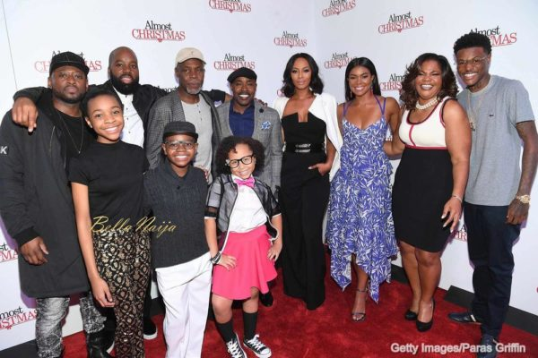 (L-R) Omar Epps, David E. Talbert, Danny Glover, Alkoya Brunson, Nadej Bailey, Marley Taylor, Will Packer, Keri Hilson, Gabrielle Union, Mo'Nique and DC Young Fly