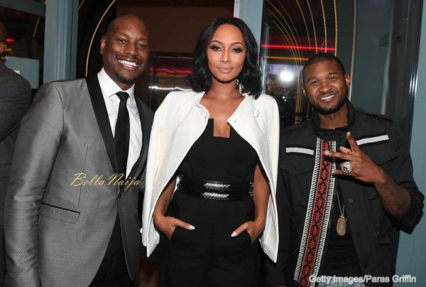 Tyrese, Keri Hilson and Usher
