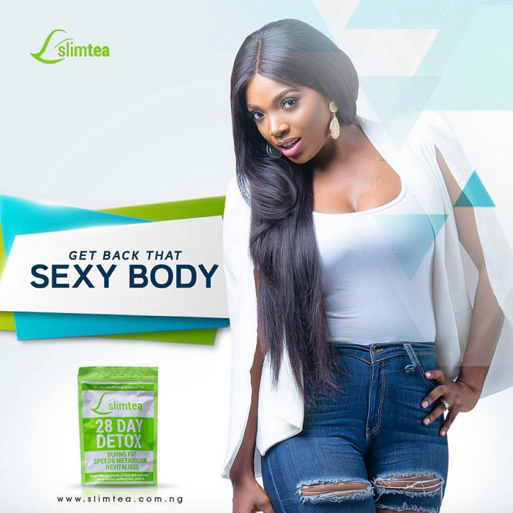 Annie Idibia for Slim Tea_11
