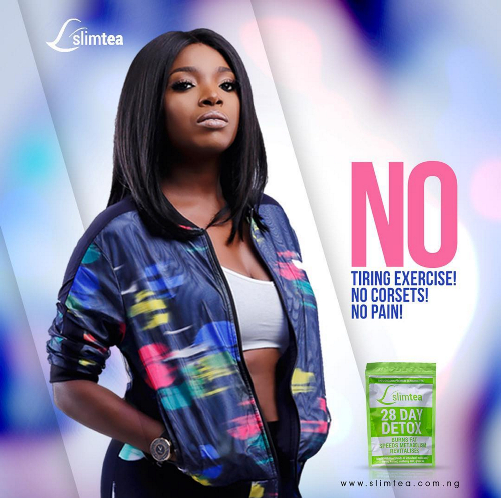 Annie Idibia for Slim Tea_14