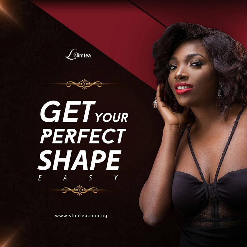 Annie Idibia for Slim Tea_3