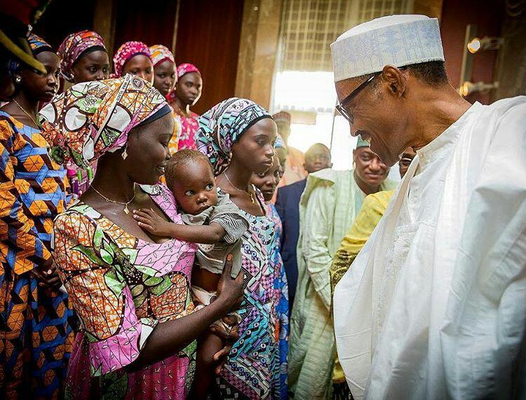 President Buhari Meets Chibok Girls5