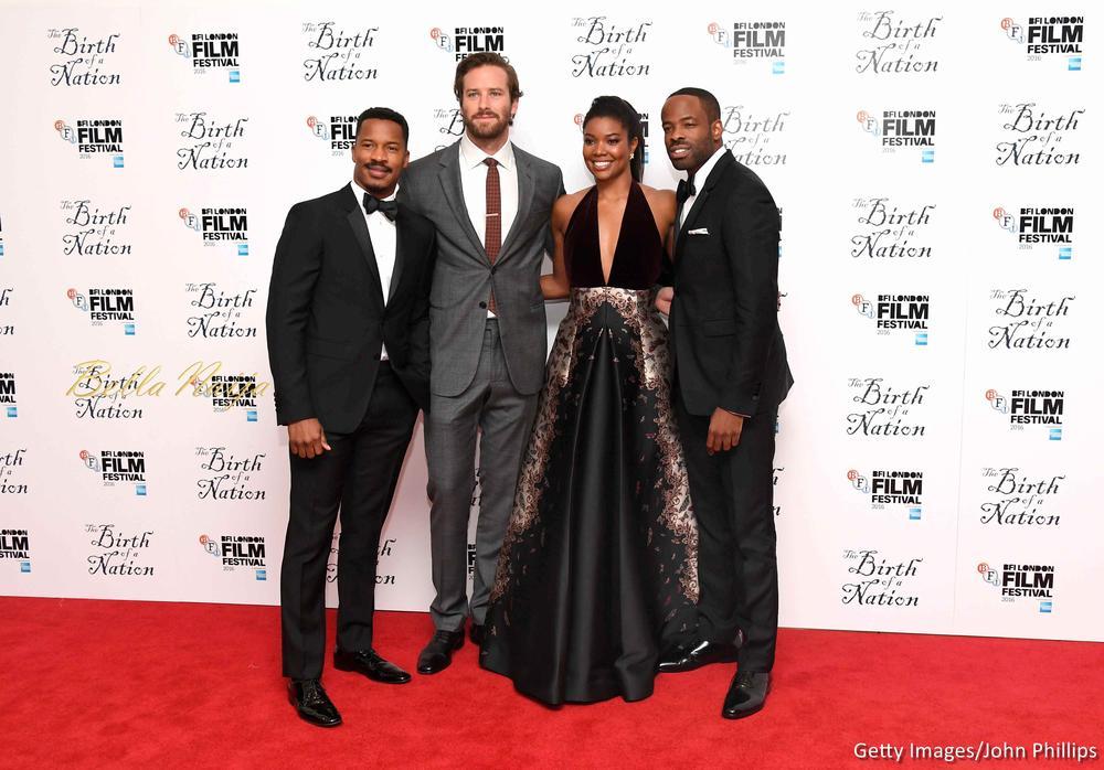 Nate Parker, Armie Hammer, Gabrielle Union & Chike Okonkwo