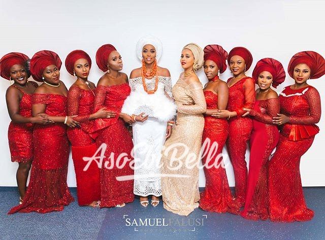 Bride & her #asoebibella Photography by @samuelfalusi.photography