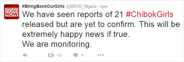 Chibok Release