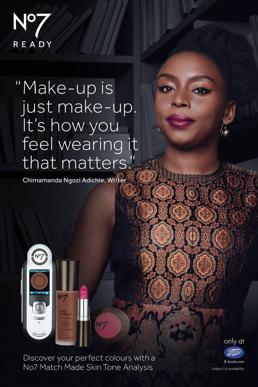 Chimamanda Adichie_Boots_no7_makeup