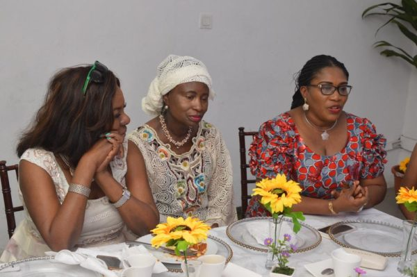 L-R: Chief Mrs. Taiwo Taiwo, Chairman, Lexham Investments; Chief Mrs. Eniola Fadayomi MFR Flo-D, Chairman, Africa Prudential Registrars Plc; and Oluwatoyin Sanni, Group CEO, United Capital Plc